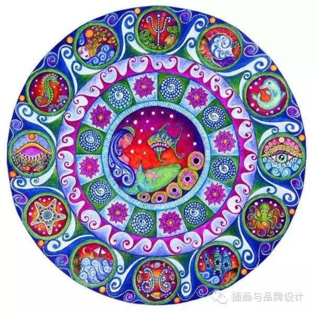 第二期荣格曼陀罗绘画心理成长小组